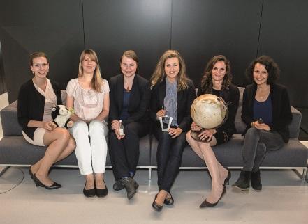 Gründerinnen von dem Mentoring HVB Programm