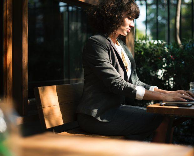 Eine Startup-Gründerin