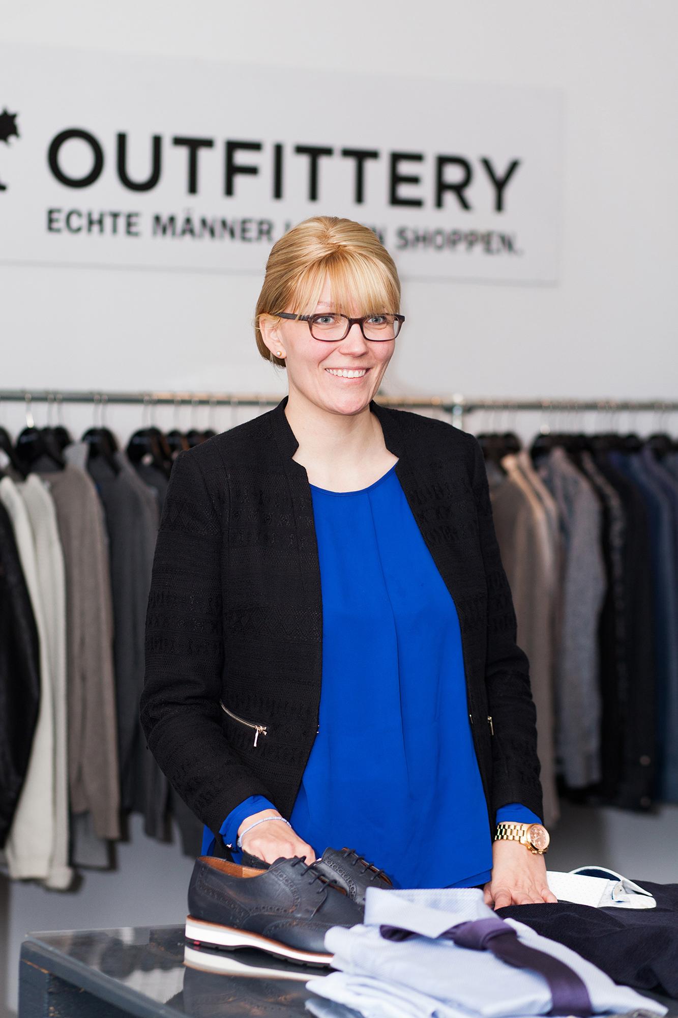 Anna Alex die Gründerin von OUTFITTERY